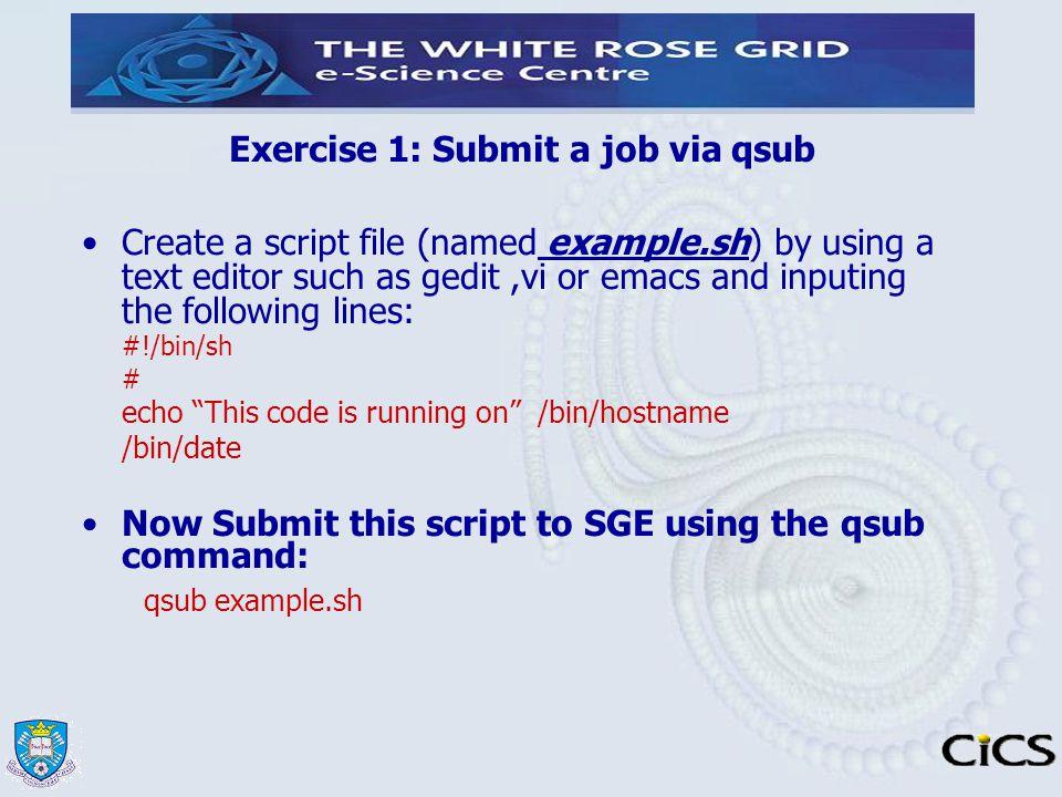 Qsub submit binary options bitcoins mining ubuntu one