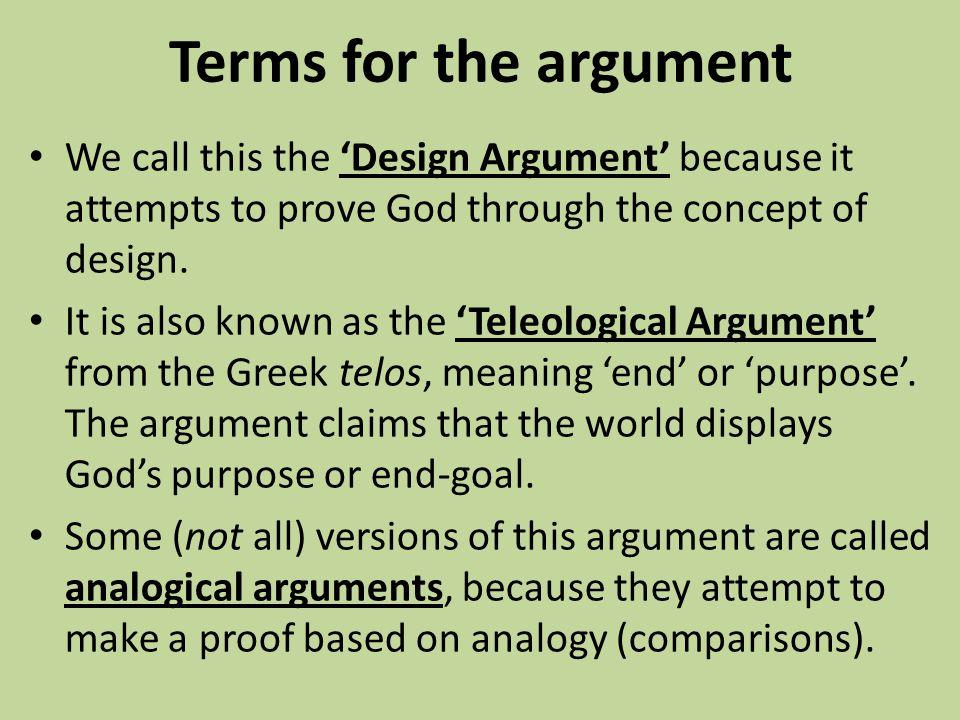 Image result for Teleological god