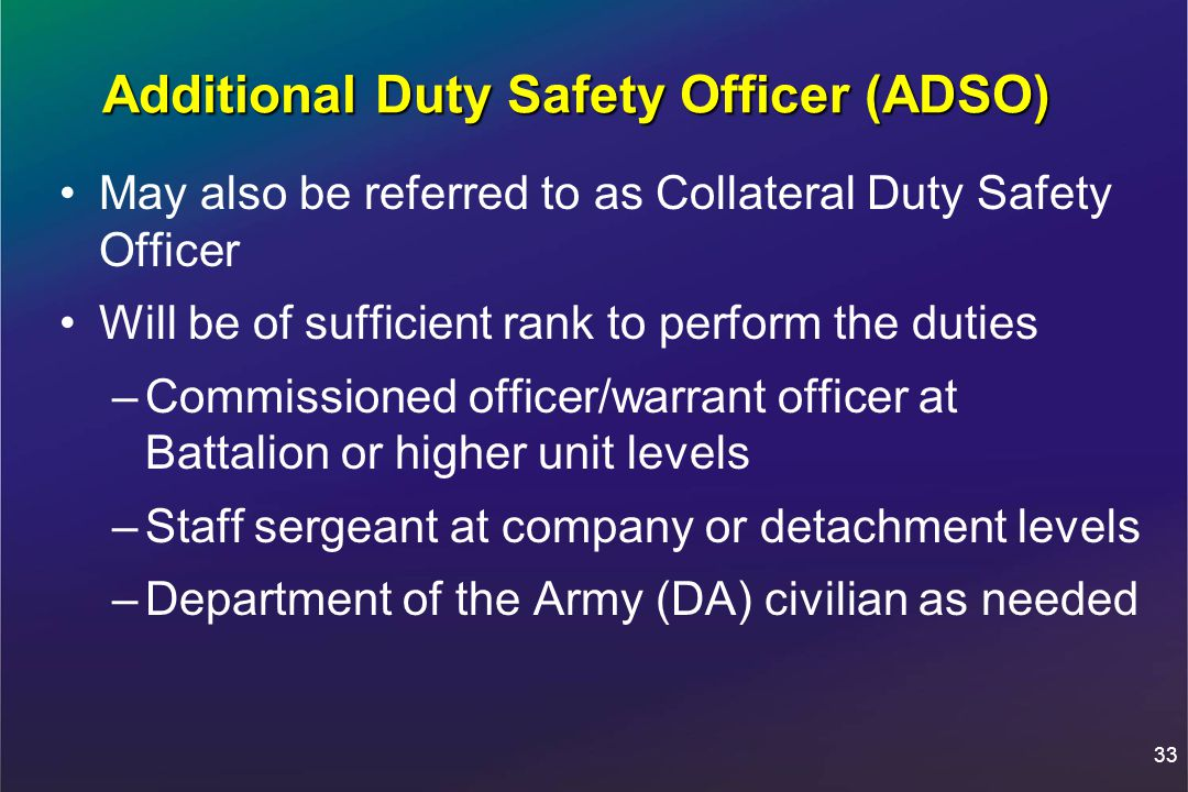 The Army Safety Program Ppt Download