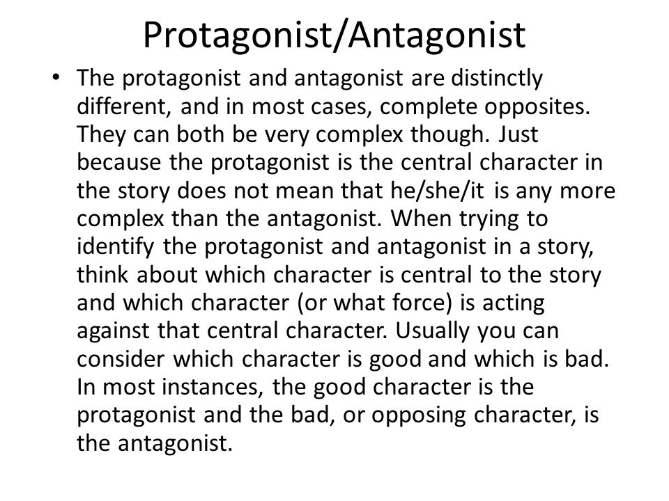 Introduction This Lesson Is About The Different Types Of Characters. Worksheet. Protagonist And Antagonist Worksheet At Mspartners.co