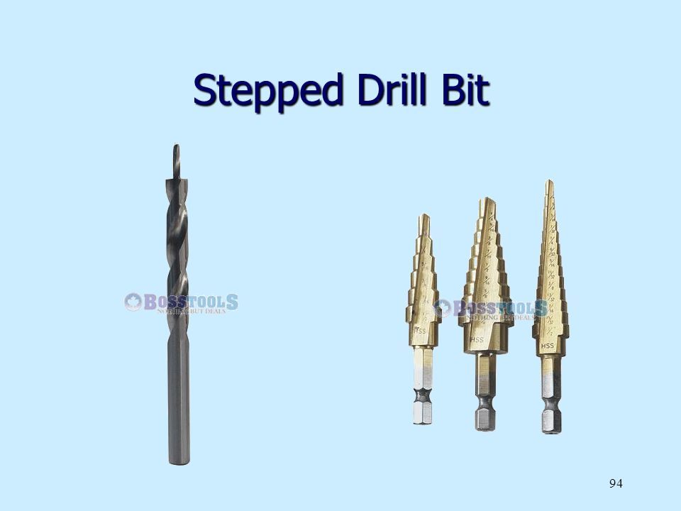 Stepped Drill Bit