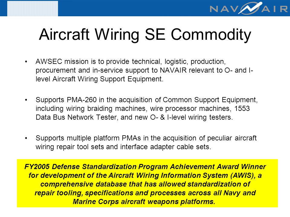 Aircraft+Wiring+SE+Commodity organizational & intermediate level wire tester acquisitions (fy 07