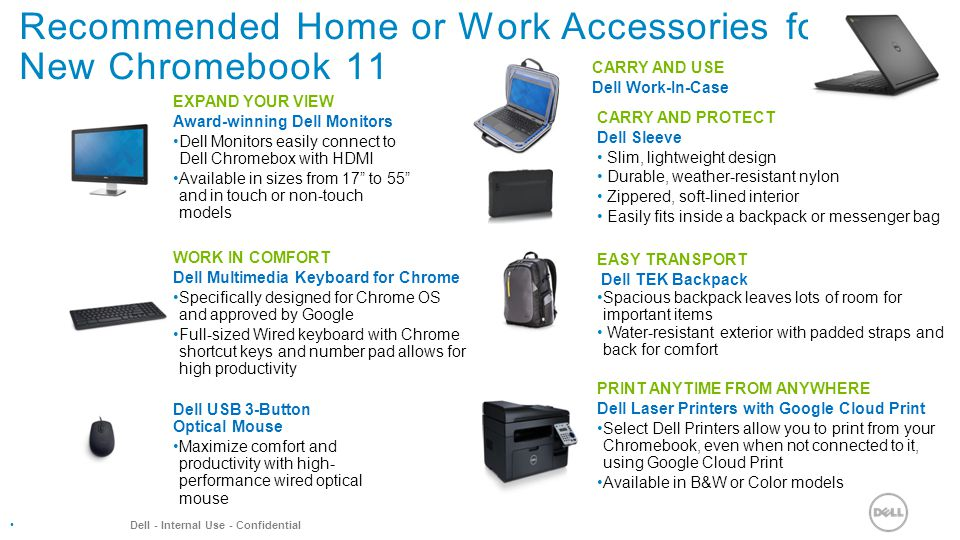 Recommended Classroom accessories for NEW Chromebook ppt video