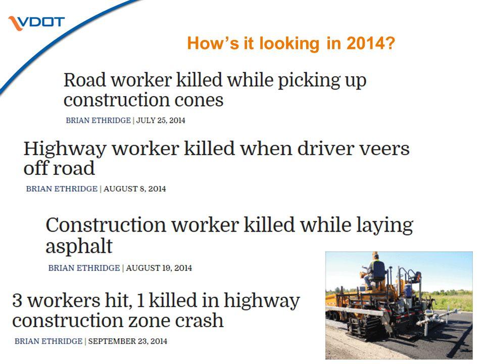 February 26, 2015 | Fredericksburg, VA Work Zone Safety