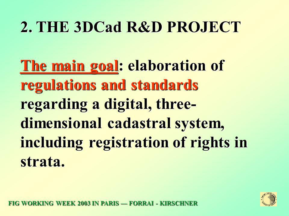 2. THE 3DCad R&D PROJECT