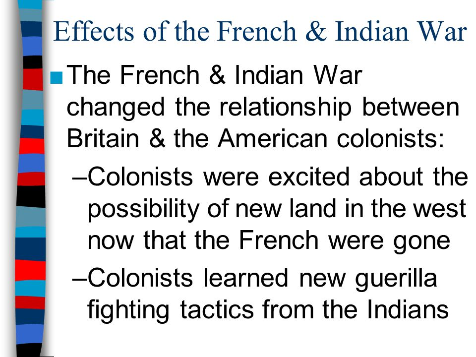 Essential Question How Did Imperial Competition Between Britain