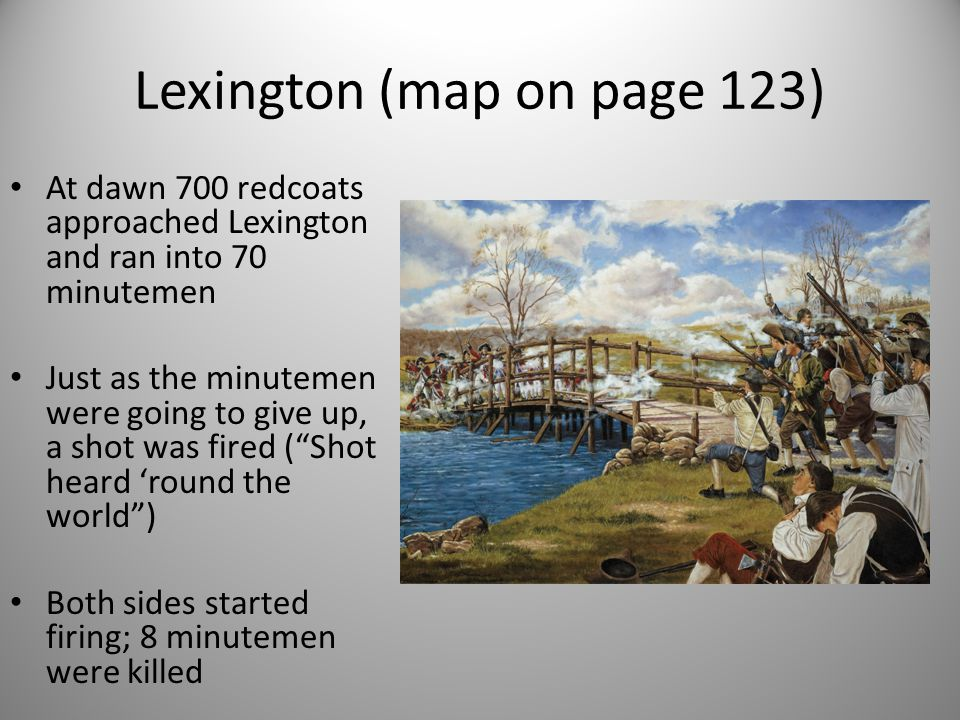 Lexington (map on page 123)