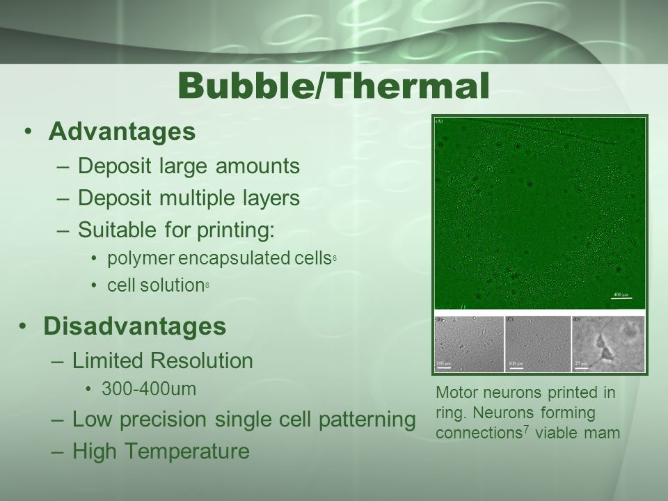 System for Micropatterning and Cell Encapsulation - ppt