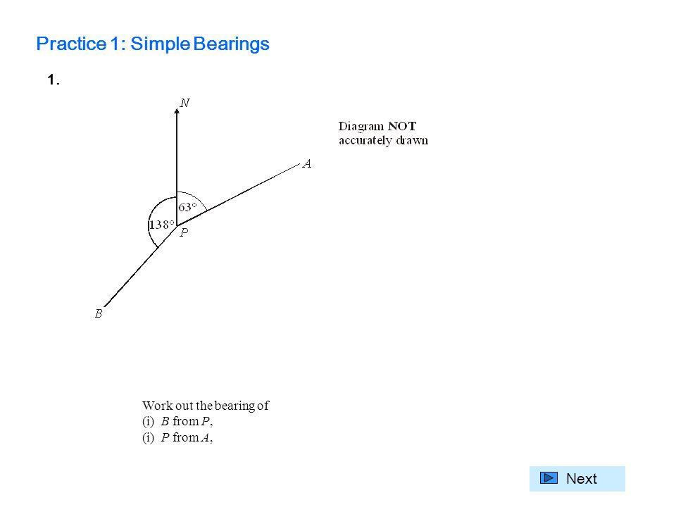 Gcse Mathematics Targeting Grade C Shape And Space Unit 5 Bearings