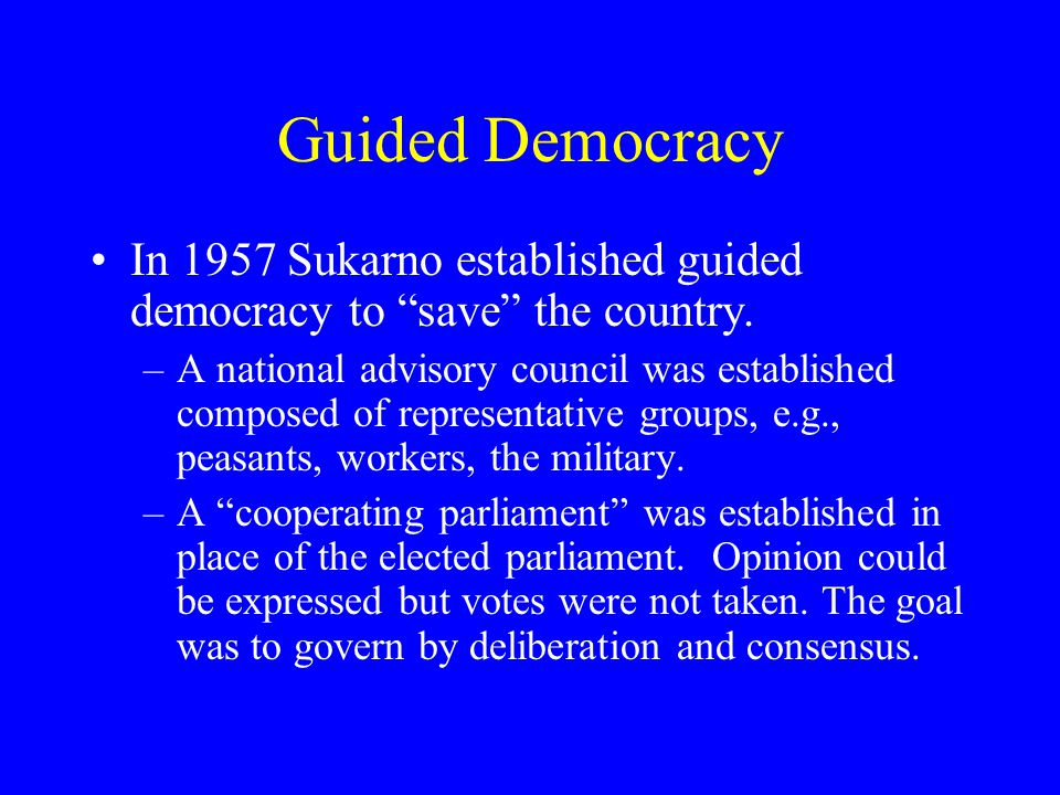 indonesia government history 354 campbell university ppt download rh slideplayer com Autocracy Definition Dictatorship Definition