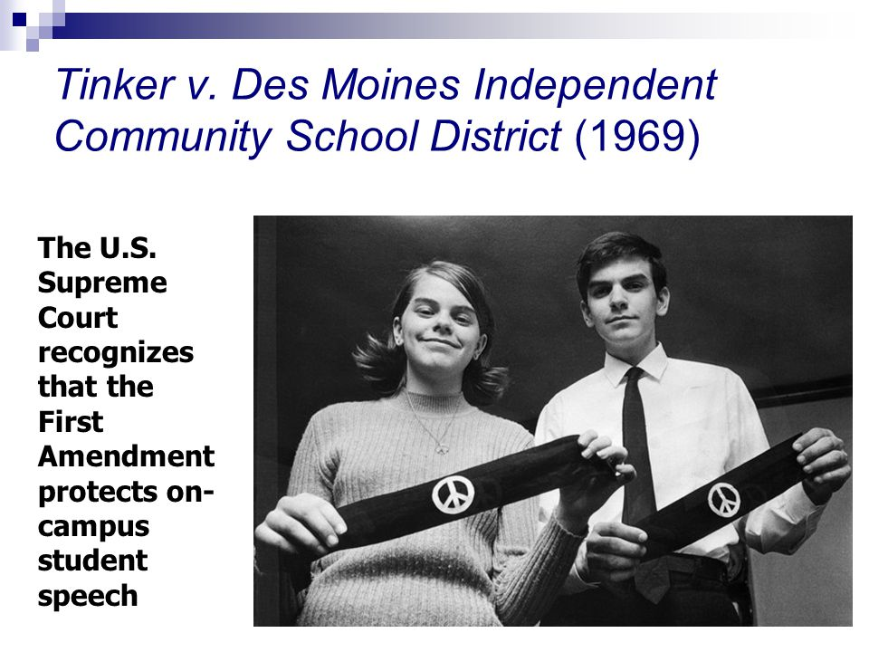By Photo Congress || Tinker V Des Moines Rule Of Law