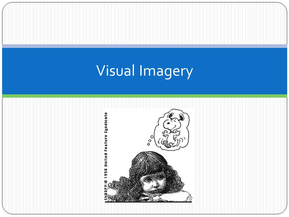 visual imagery i m going to ask you a question ppt download