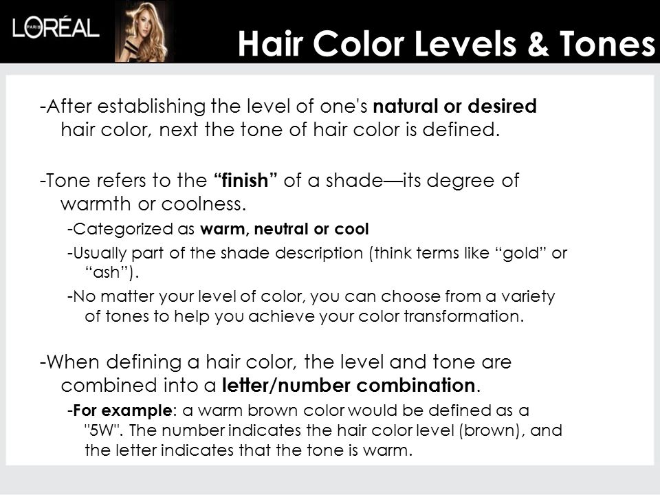 Hair Color Ppt Download