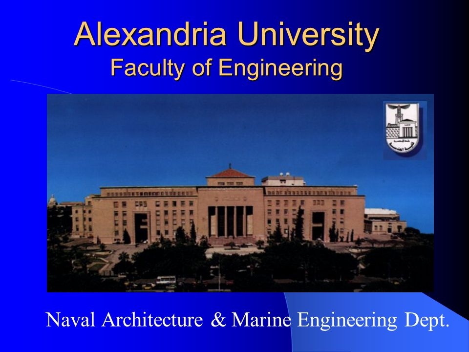 Alexandria University Faculty of Engineering