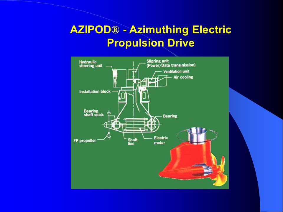 AZIPOD® - Azimuthing Electric Propulsion Drive