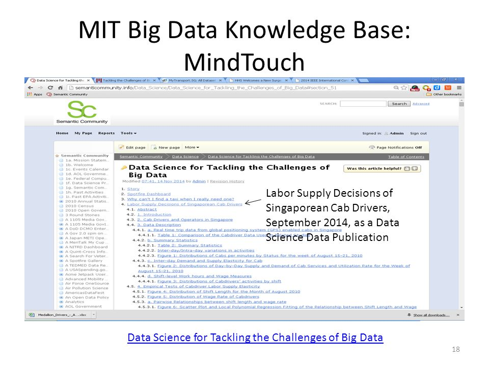 Data Science for Tackling the Challenges of Big Data - ppt