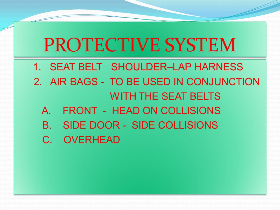 PROTECTIVE SYSTEM