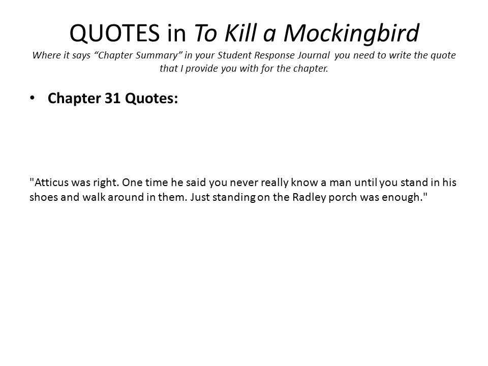summary for to kill a mockingbird chapter 1