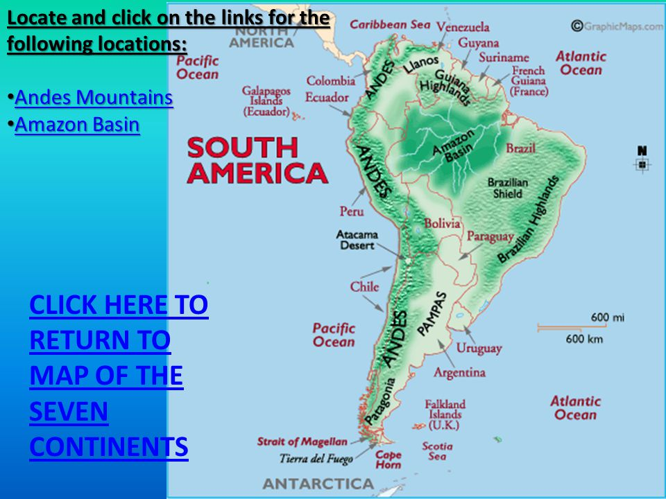 Major Geographic Features of the Seven Continents - ppt video online ...