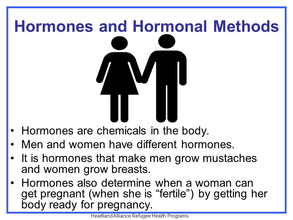 Hormones and Hormonal Methods