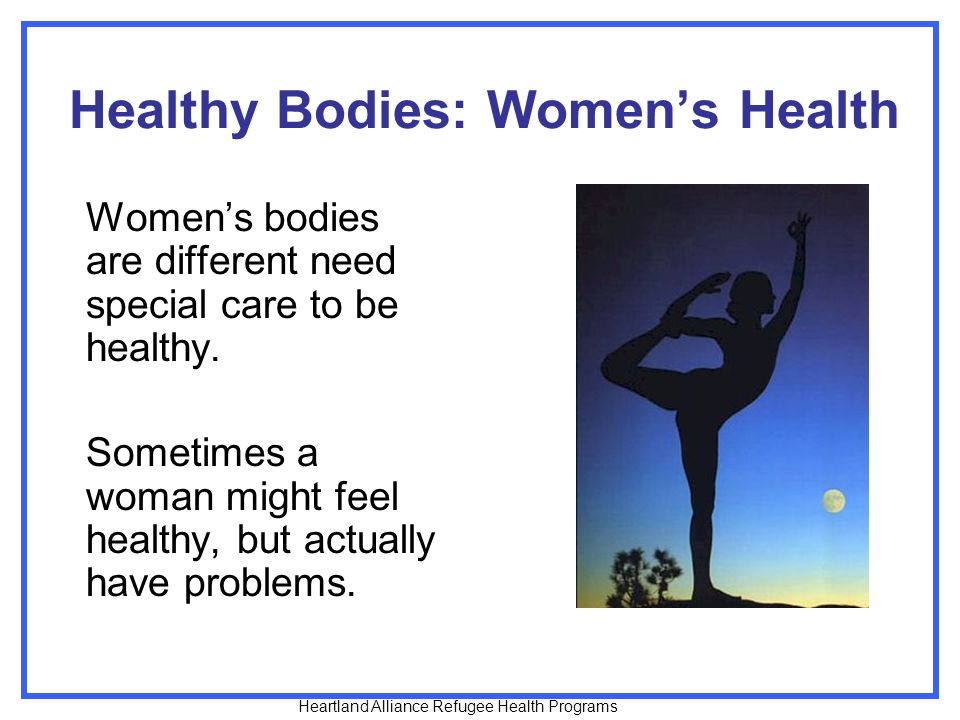Healthy Bodies: Women's Health