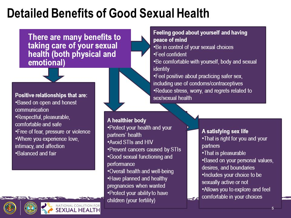Health sexual benefits