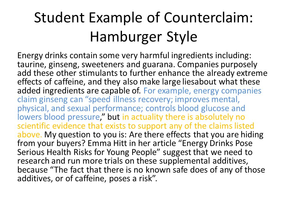 The Counterclaim Ppt Video Online Download