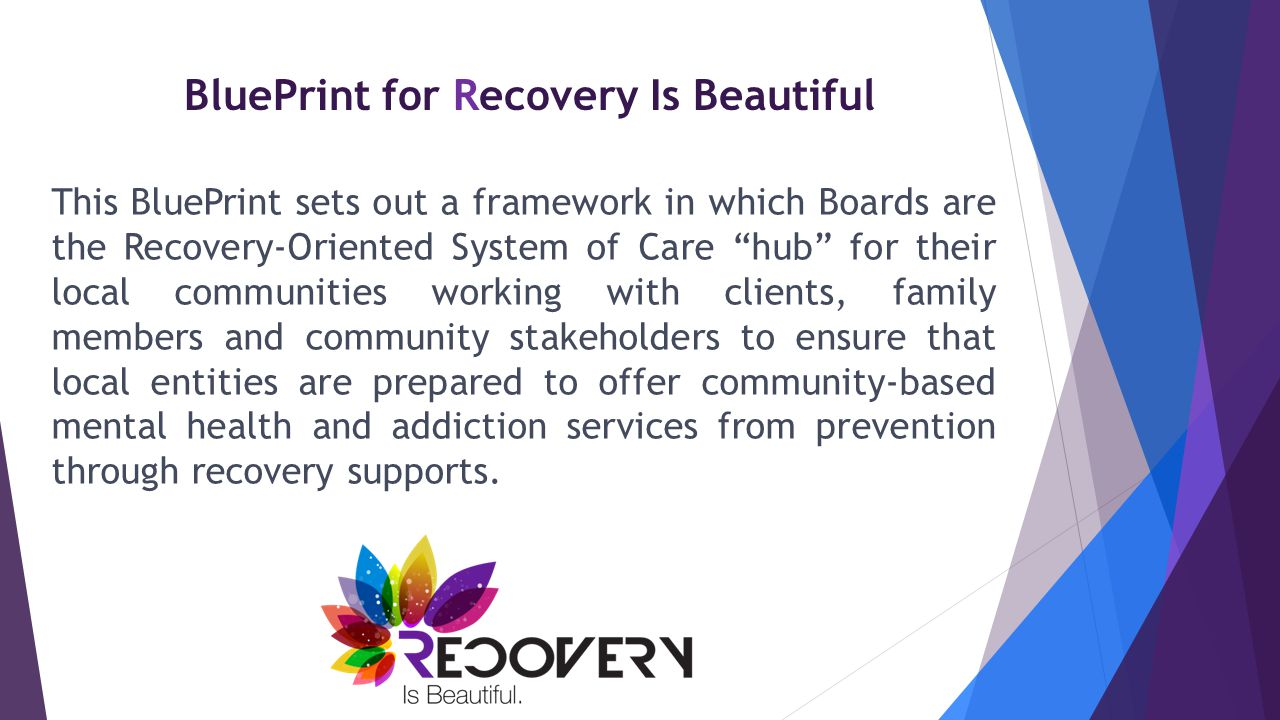 BluePrint for Recovery Is Beautiful