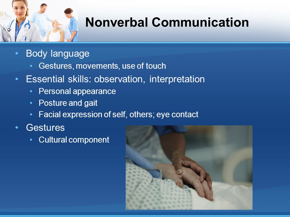 observing nonverbal communication