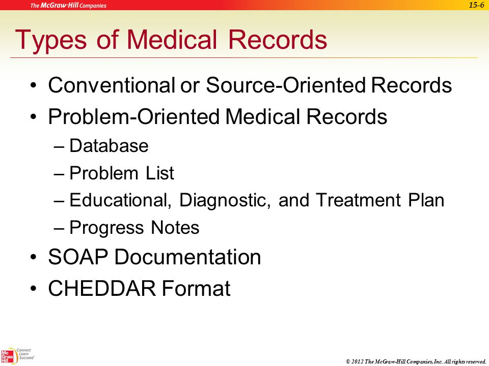 15 The Health Record Ppt Download