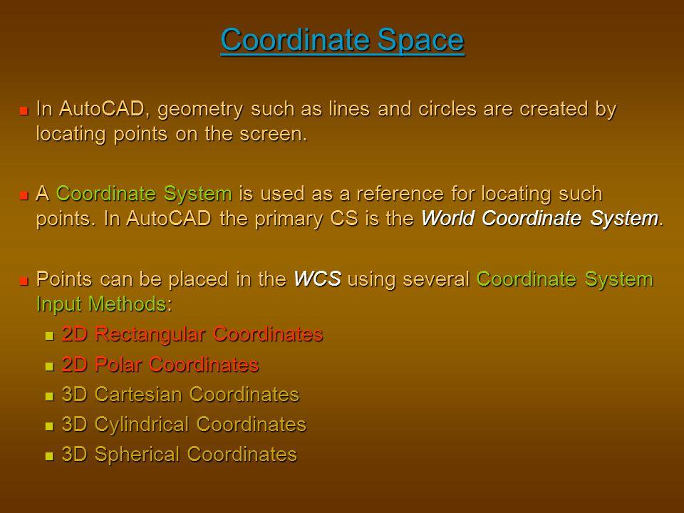 ENGT 122 – CAD I CAD I – Outline & Chapter 1 – Intro to