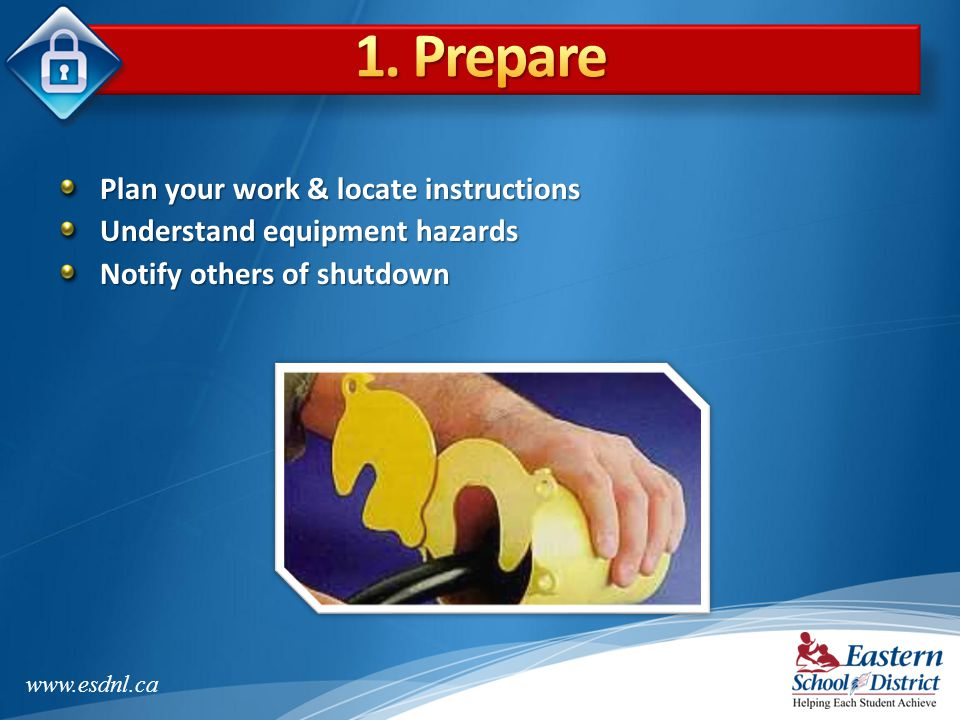 1. Prepare Plan your work & locate instructions