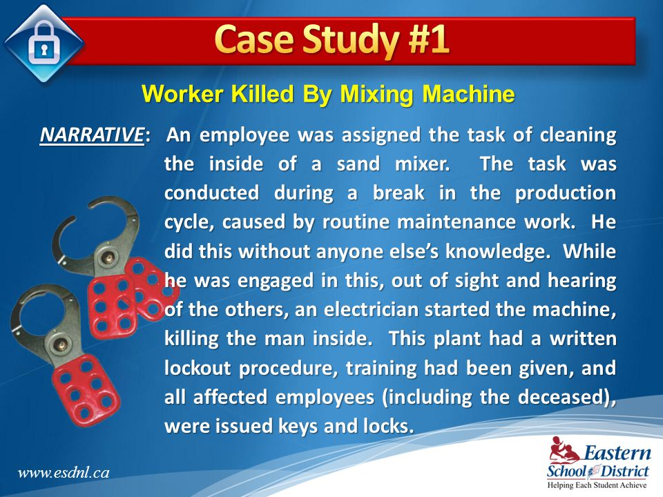 Worker Killed By Mixing Machine