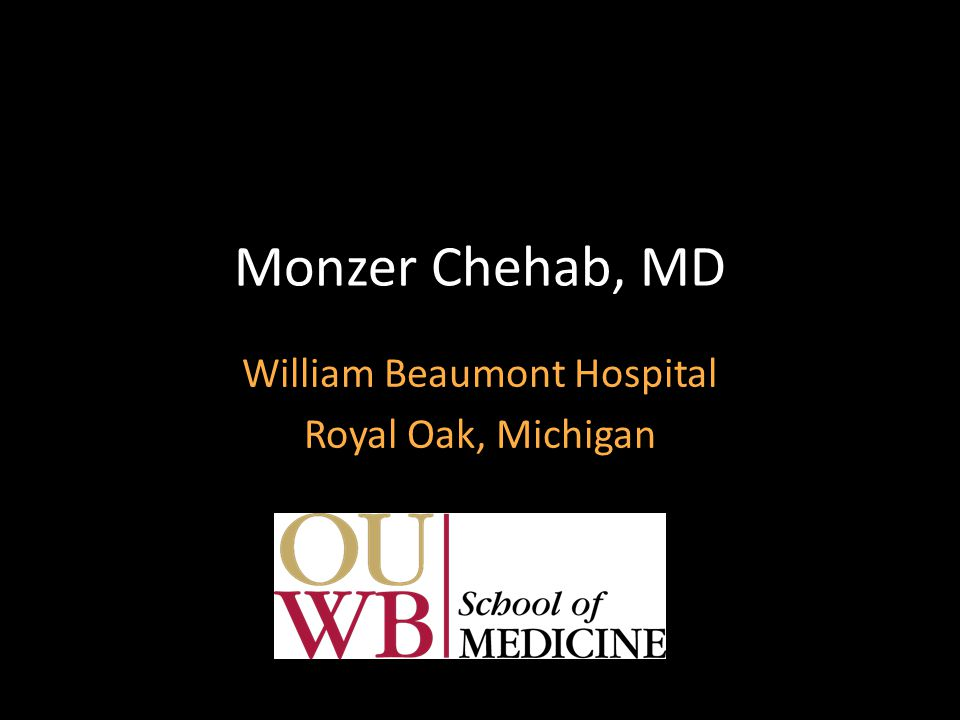 William Beaumont Hospital Royal Oak, Michigan - ppt download