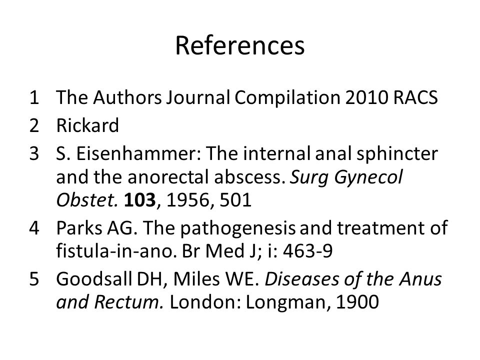 References The Authors Journal Compilation 2010 RACS Rickard