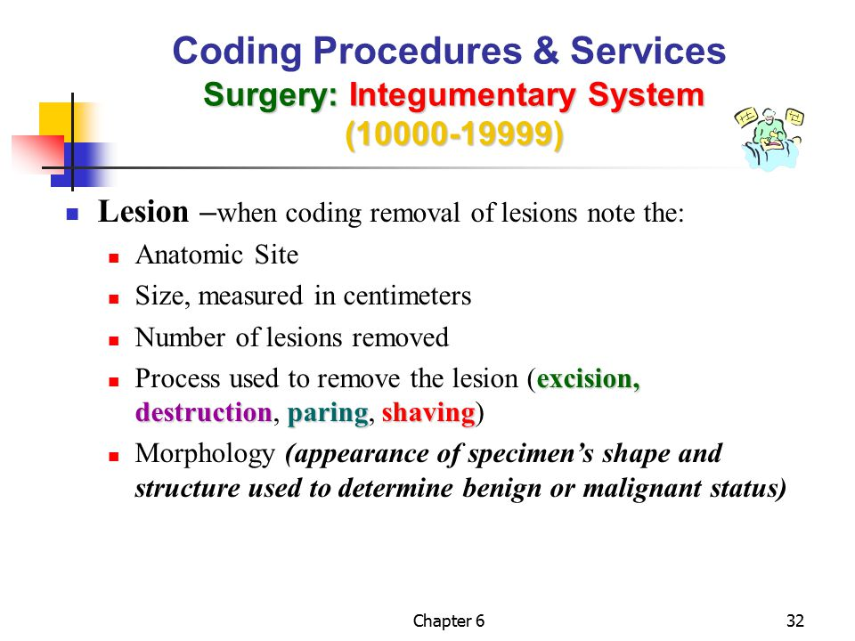 surgery radiology pathology laboratory and medicine ppt download rh slideplayer com cpt coding guidelines for integumentary system Integumentary System Body