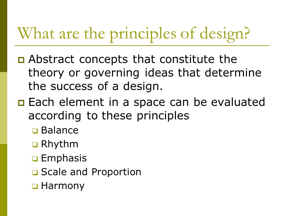 Chapter 3 Design Principles Balance Rhythm Emphasis Scale Ppt