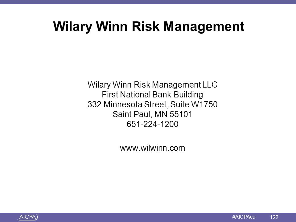 Wilary Winn Risk Management