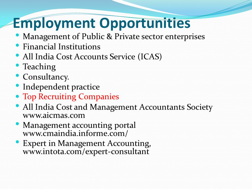 career opportunities for accouyntants in india pdf