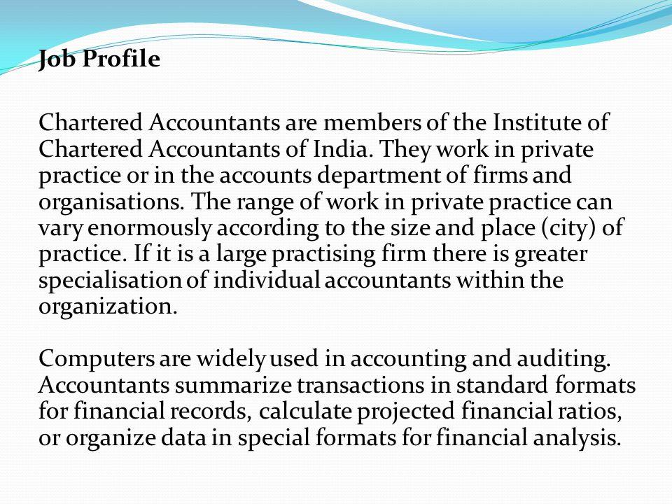 accountant profile