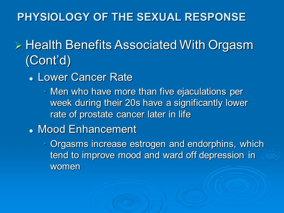 Think, that Neurophysiology of orgasm can help