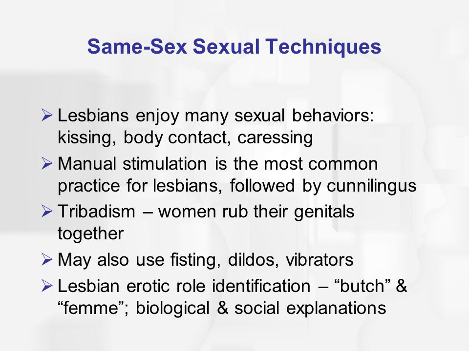 Sexual arousal techniques
