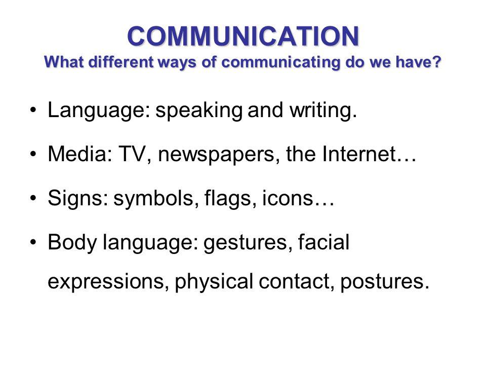 Communication Ppt Video Online Download