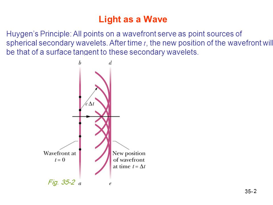 Light as a Wave