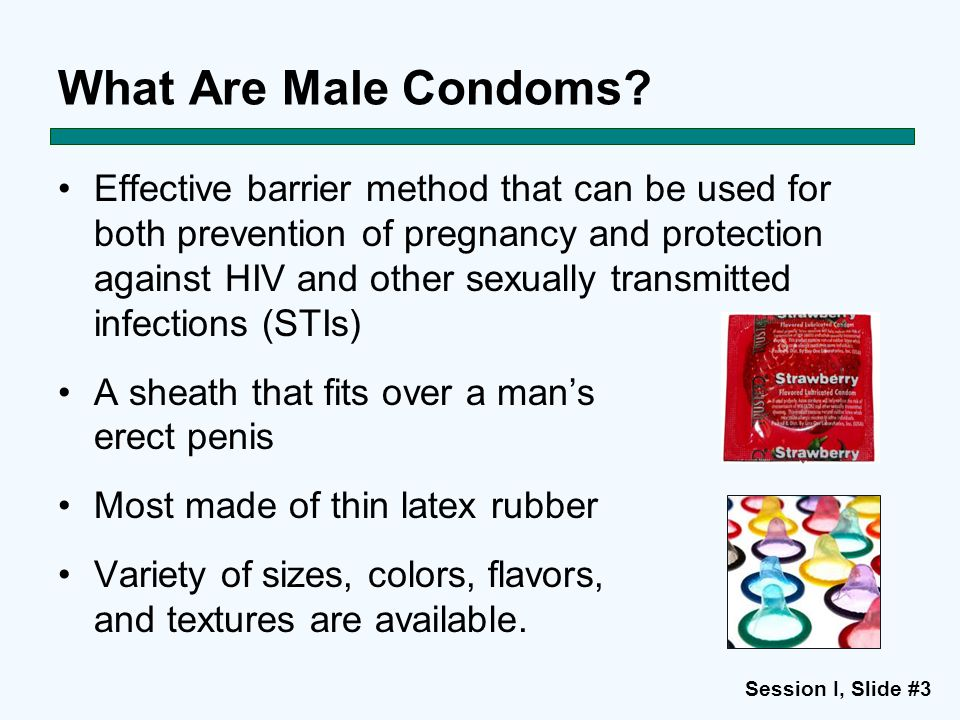 What Are Male Condoms