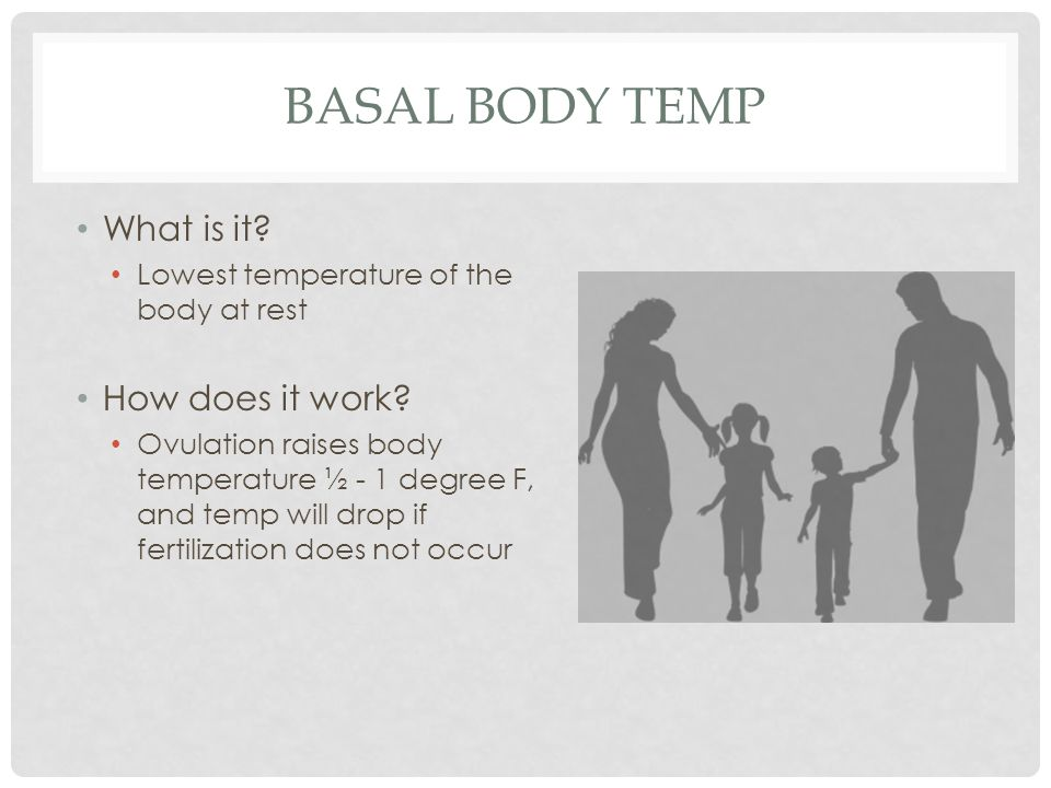 Basal body temp What is it How does it work
