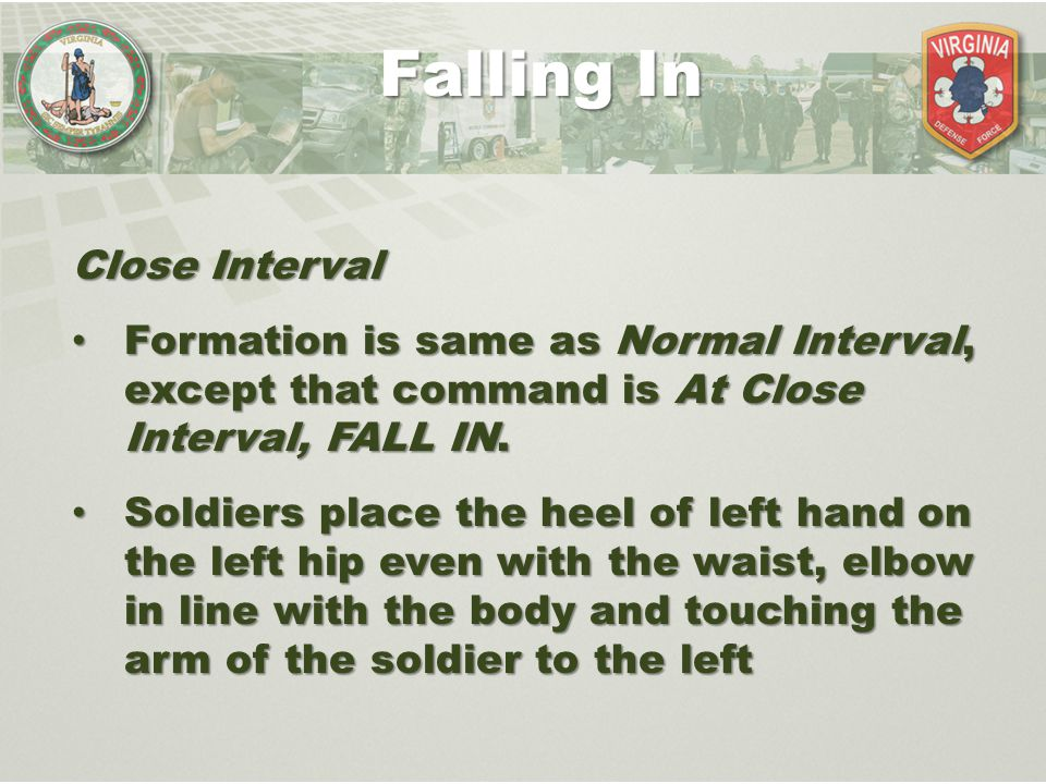 Falling In Close Interval