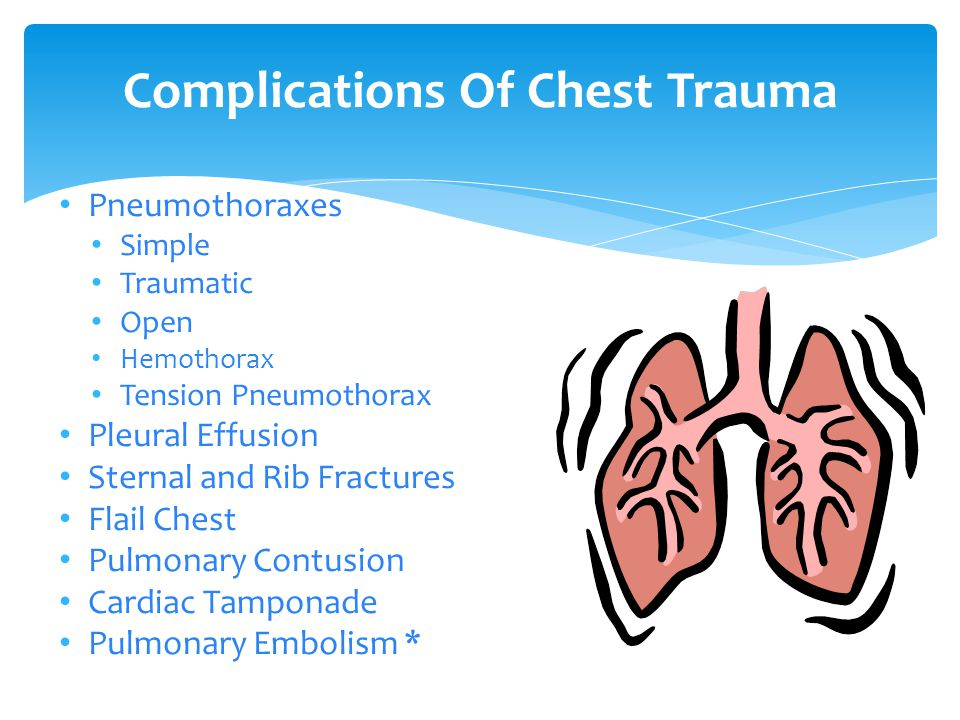 chest trauma essay A patient injured in a motor vehicle crash is transported to an emergency department the provider determines the need for immediate thoracotomy and chest-tube insertion and anticipates the need for maximal suction pressure.