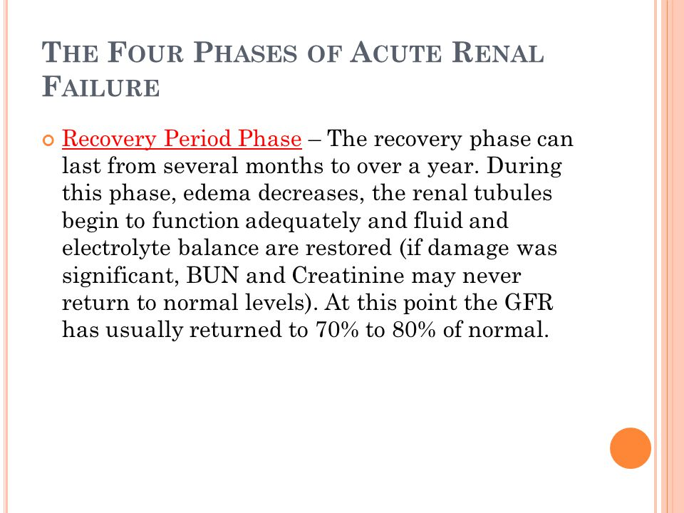 Acute Renal Failure Acute Kidney Injury Ppt Download