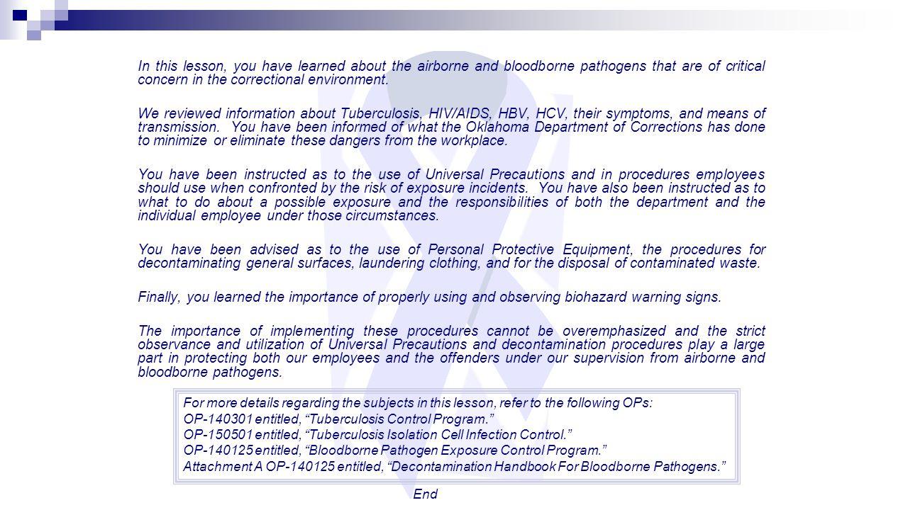Airbornebloodborne Pathogens Ppt Download